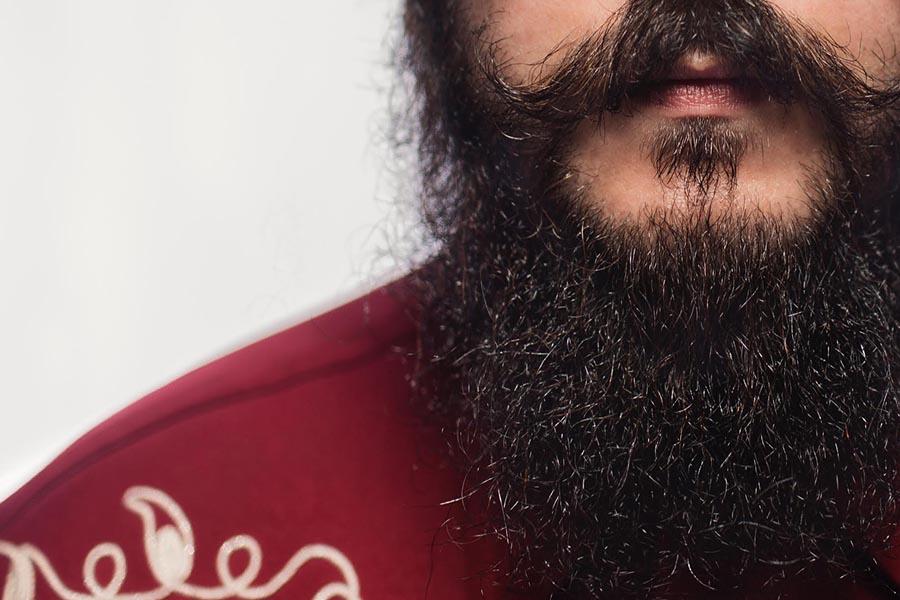 Productos para barba al estilo vintage americana