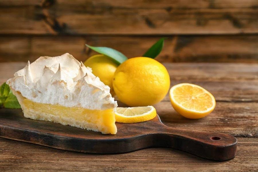 La nueva receta de tarta de limón más ligera
